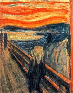 Munch le cri the scream synesthésie