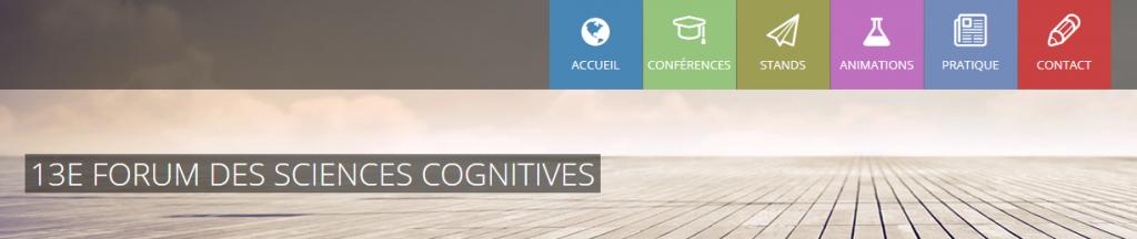 Les Paysages Sonores seront au 13ème Forum de Sciences Cognitives