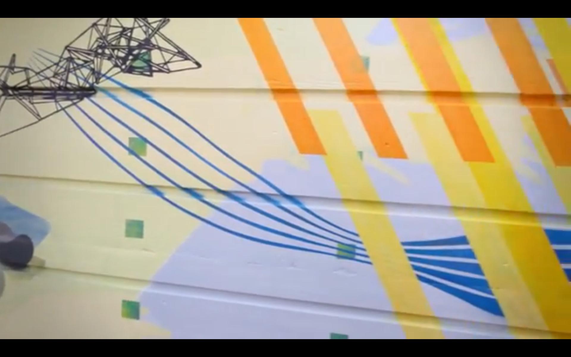 Synesthesia – Interactive Public Art, Paul Aloisi, 2014