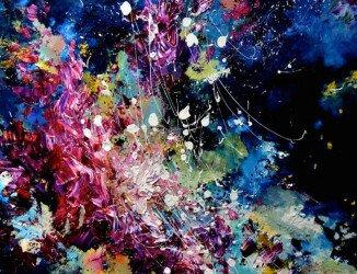 Atteinte de synesthésie, elle peut voir la musique. Elle a décidé de peindre ce qu'elle entend. POSITIVR