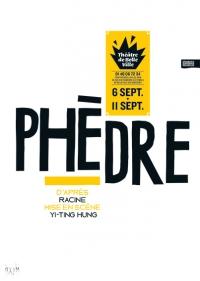 PHÈDRE – Mise en scène travaillée en synesthésie – Paris sept. 2016